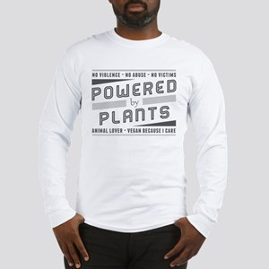 No Violence Powered by Plants Long Sleeve T-Shirt