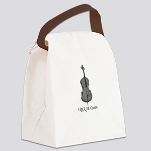 I Rock the Cello Canvas Lunch Bag