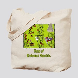 WY-Brokeback. Tote Bag