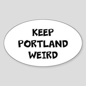 KEEP PORTLAND WEIRD Sticker