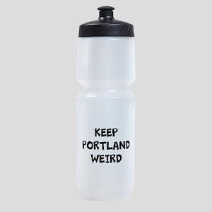KEEP PORTLAND WEIRD Sports Bottle