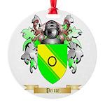 Peirce Round Ornament