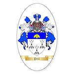 Peil Sticker (Oval 10 pk)