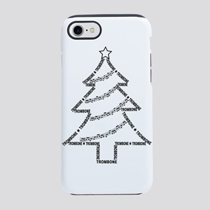 Trombone Christmas Tree iPhone 8/7 Tough Case