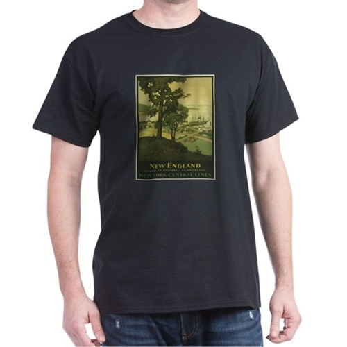 Vintage poster - New England T-Shirt