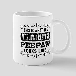 World's Greatest PeePaw Mug