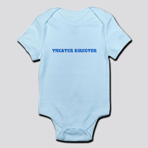 Theater Director Blue Bold Design Body Suit