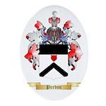 Purdon Oval Ornament