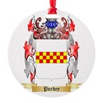 Purdey Round Ornament
