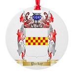 Purday Round Ornament