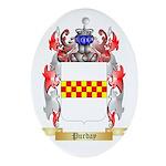 Purday Oval Ornament