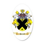 Purcell Oval Car Magnet