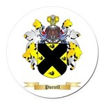 Purcell Round Car Magnet