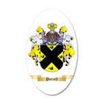 Purcell 20x12 Oval Wall Decal