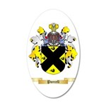 Purcell 35x21 Oval Wall Decal