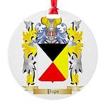 Pupo Round Ornament