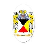Pupo Oval Car Magnet
