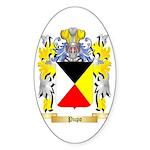 Pupo Sticker (Oval 10 pk)