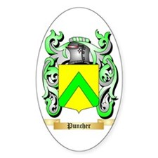 Puncher Sticker (Oval)