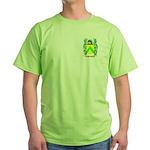 Punchard Green T-Shirt