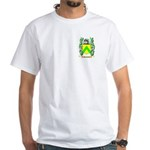 Punchard White T-Shirt