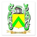 Punchard Square Car Magnet 3