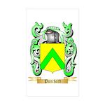 Punchard Sticker (Rectangle 50 pk)