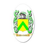 Punchard 35x21 Oval Wall Decal