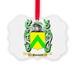 Punchard Picture Ornament