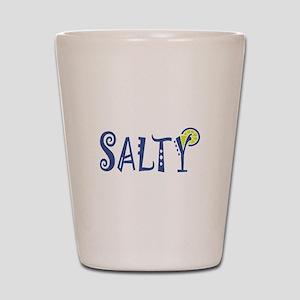 Salty Margarita Shot Glass