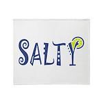 Salty Margarita Throw Blanket