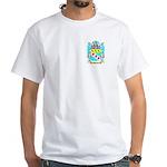 Pullein White T-Shirt