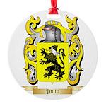 Puliti Round Ornament
