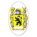 Puliti Sticker (Oval 10 pk)