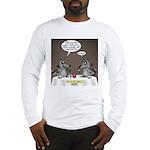 Raccoon Dining Long Sleeve T-Shirt