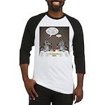 Raccoon Dining Baseball Jersey