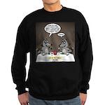 Raccoon Dining Sweatshirt (dark)