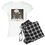 Raccoon Dining Women's Light Pajamas
