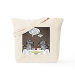 Raccoon Dining Tote Bag
