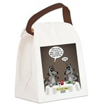 Raccoon Dining Canvas Lunch Bag