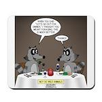 Raccoon Dining Mousepad