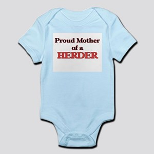 Proud Mother of a Herder Body Suit