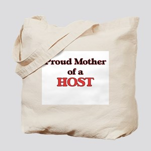 Proud Mother of a Host Tote Bag
