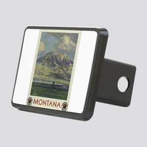 Vintage poster - Montana Rectangular Hitch Cover