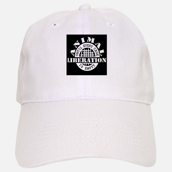 Animal Liberation - Until Every Cage is Empty Baseball Baseball Cap