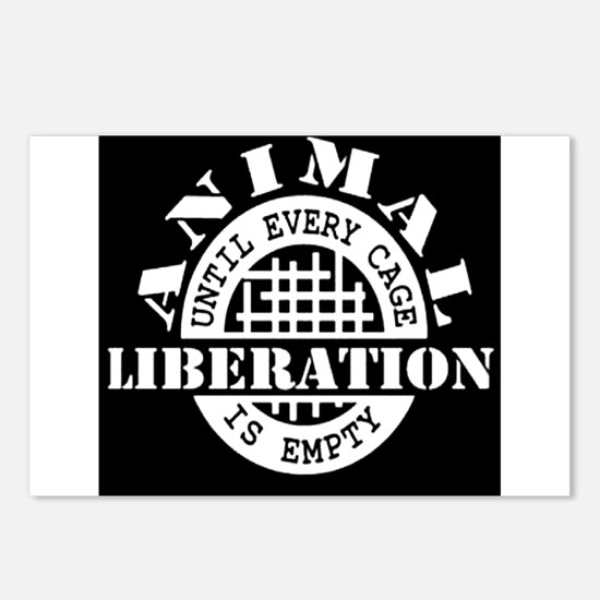 Animal Liberation - Until Postcards (Package of 8)