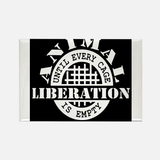 Animal Liberation - Until Every Cage is Em Magnets