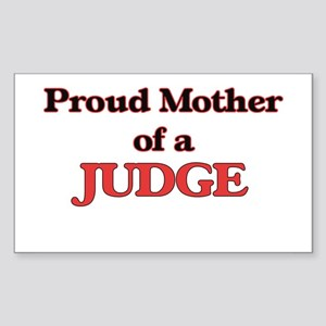 Proud Mother of a Judge Sticker