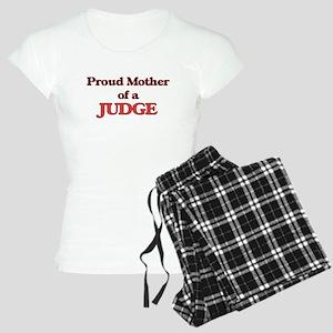 Proud Mother of a Judge Women's Light Pajamas