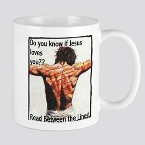 Do you know if Jesus loves you? Christian Mugs